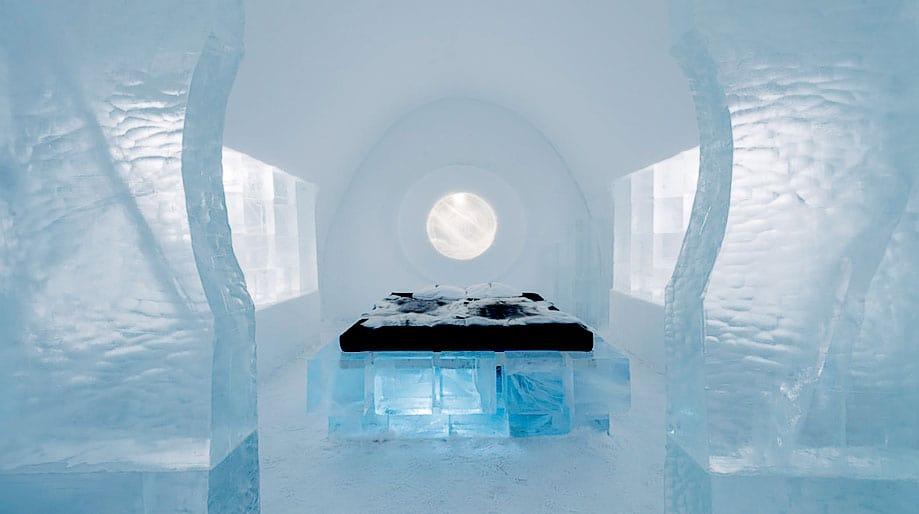 hotel de hielo suecia
