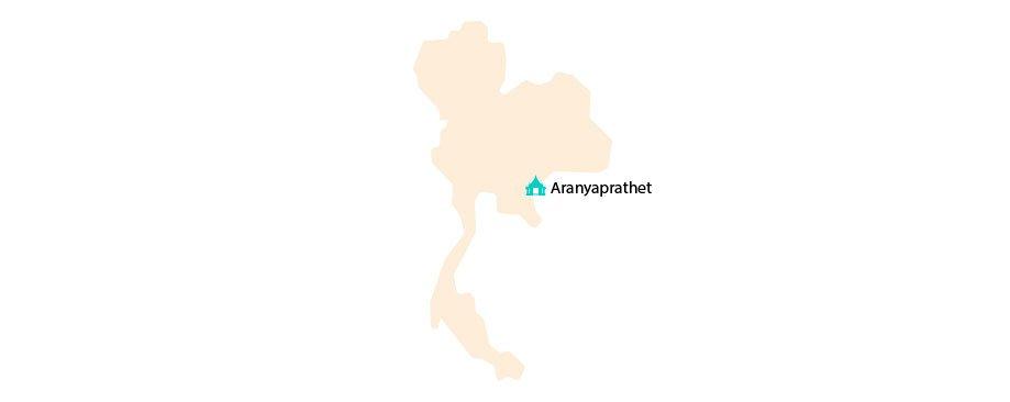 frontera Tailandia y Camboya