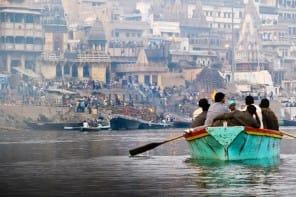 Varanasi en India