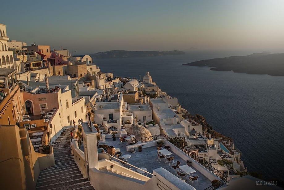 qué hacer en Santorini