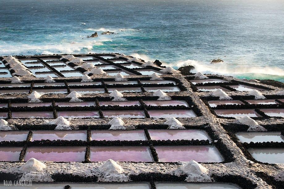 Salinas de Fuencaliente isla de La Palma