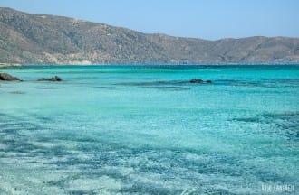 Playa de Elafonisi en Creta