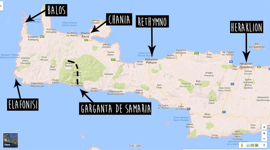 Guía de Creta por libre