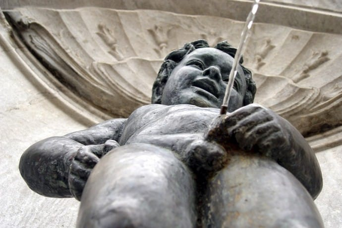 Manneken Pis Bruselas