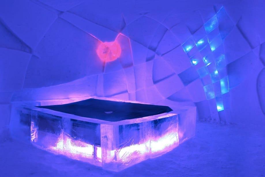 hotel de hielo Finlandia