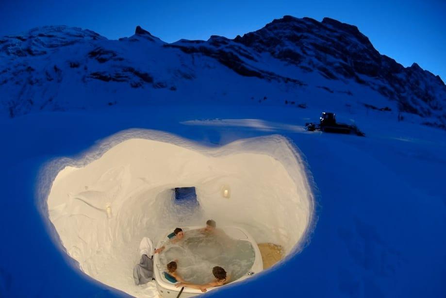 hotel de hielo Suiza