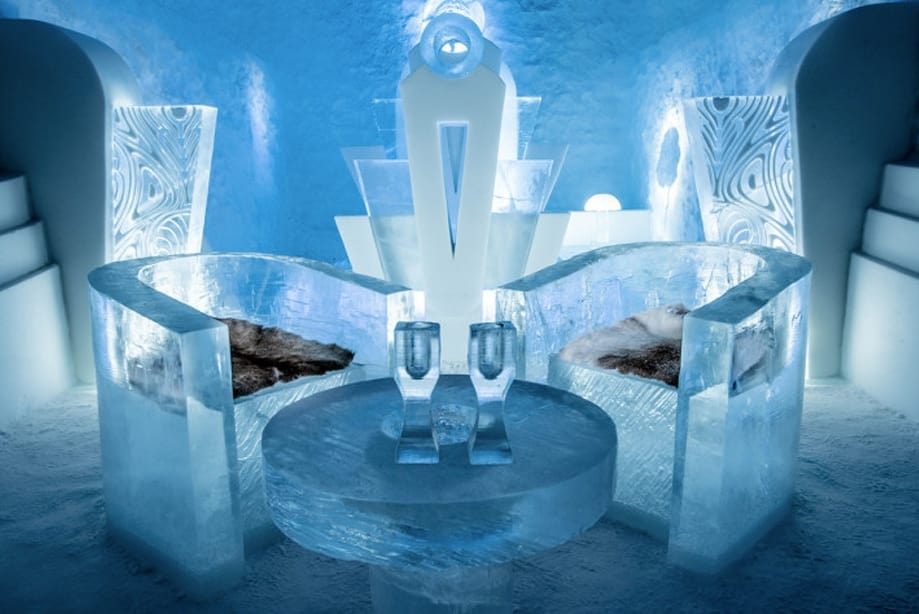 hotel de hielo más bonito