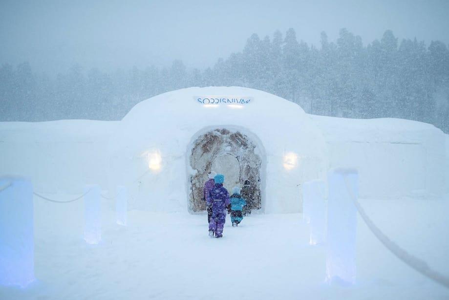 hotel de hielo Noruega