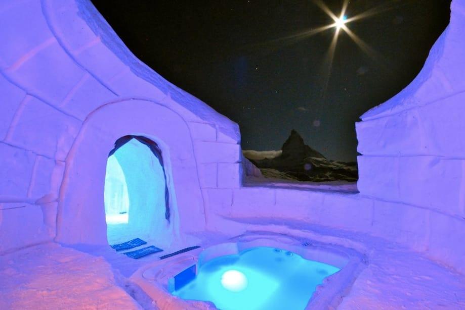 hoteles de hielo Suiza