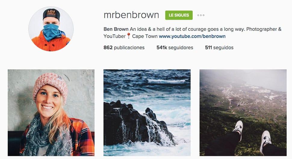 mrbenbrown Instagram