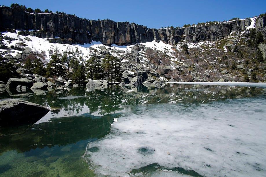 cómo llegar Laguna Negra