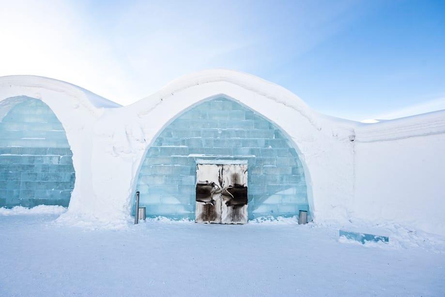hoteles de hielo Suecia