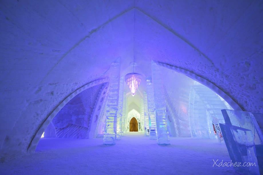 Hoteles de hielo en Canadá