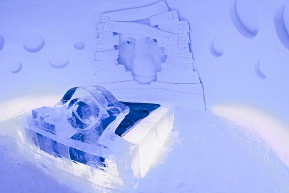 hotel de hielo Laponia