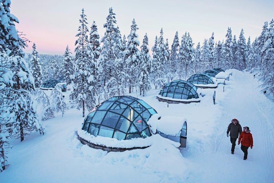 hoteles de hielo Laponia