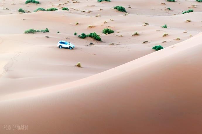 qué llevar al desierto marruecos