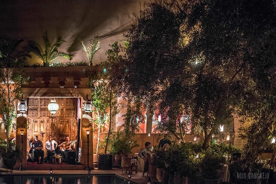 qué hacer en Marrakech a la noche