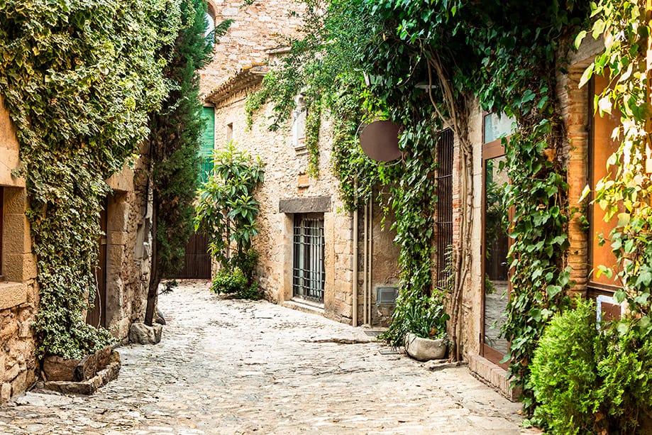 ¿Dónde está Bajo Ampurdán en Girona?