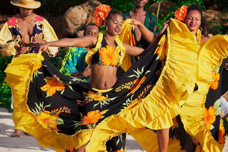 Baile Segá en Mauricio