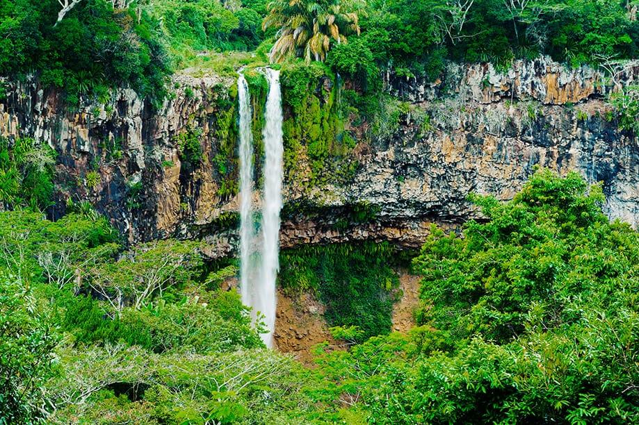 Cascada de Chamarel en Mauricio