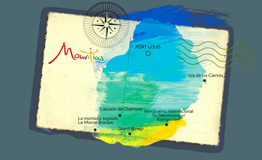 Mapa Mauricio