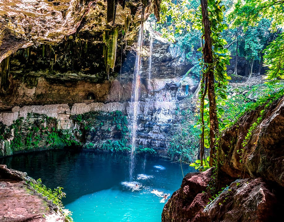 qué cenote visitar Riviera Maya