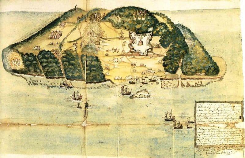 Isla Tortuga refugio pirata