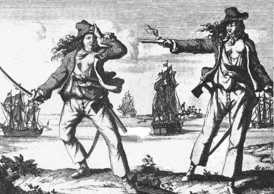 mujeres pirata