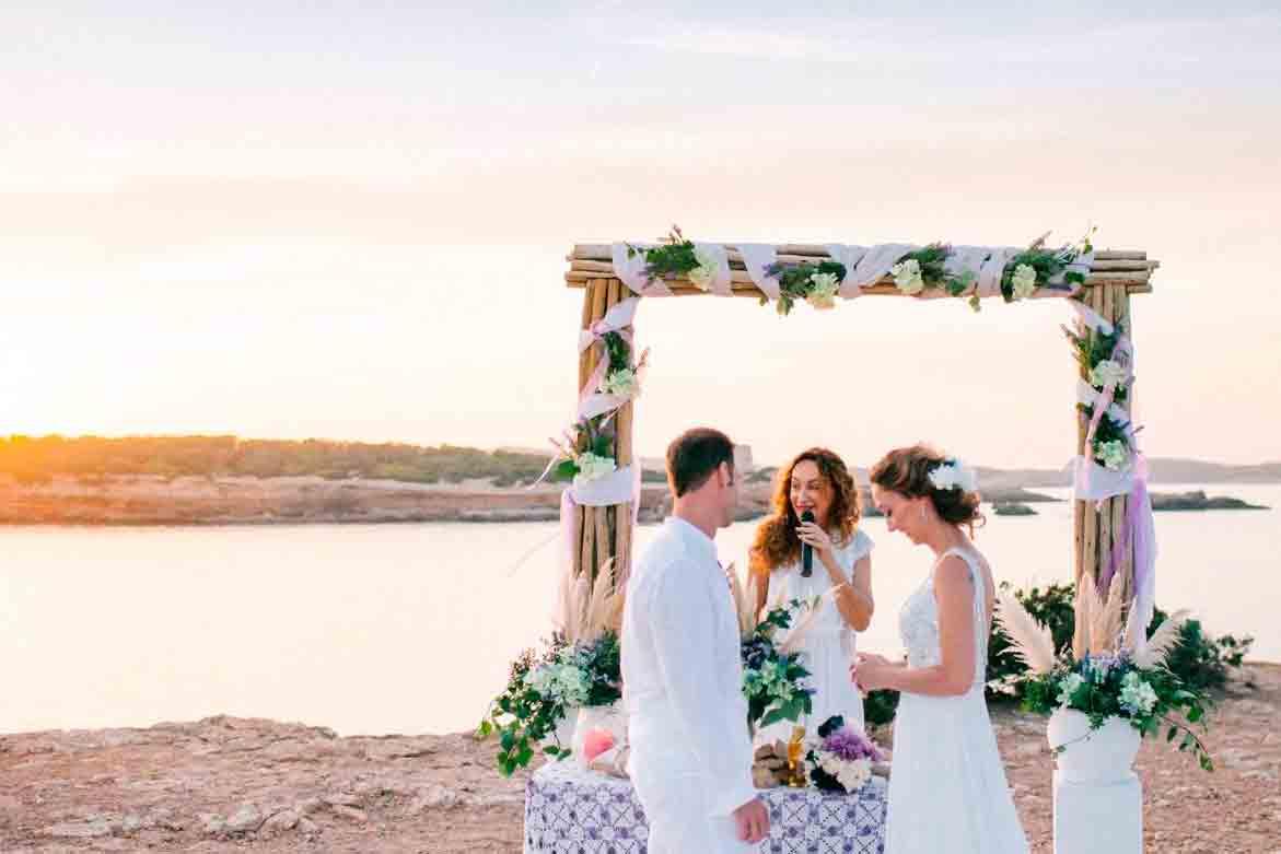 bodas en ibiza en la playa