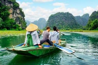 bahía de halong mapa | Rojo Cangrejo blog de viajes