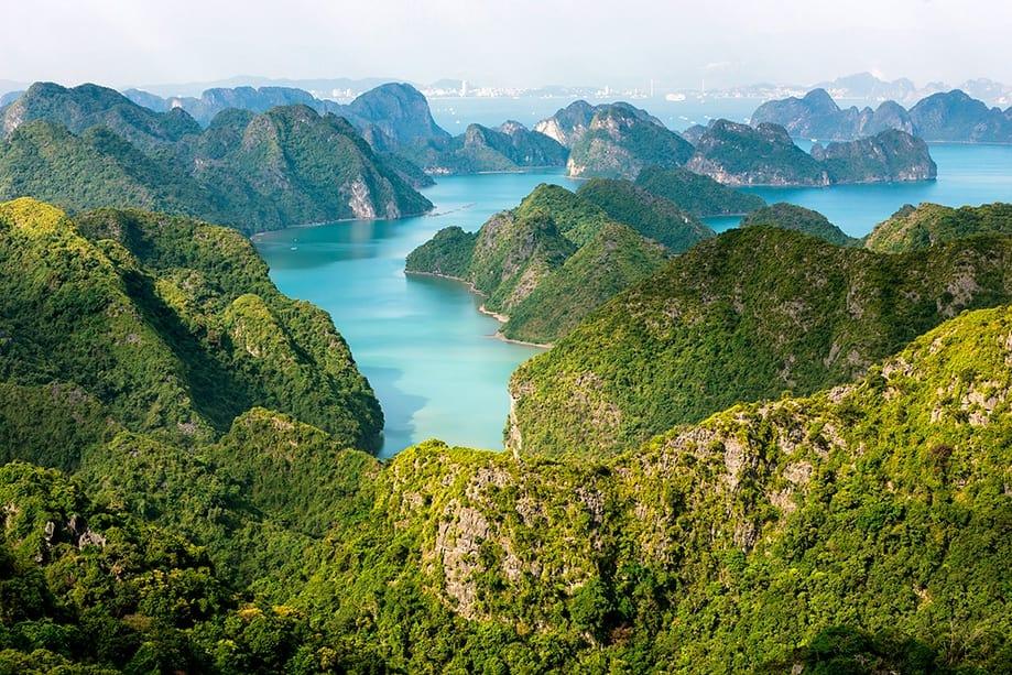 Bañarse en Halong| Rojo Cangrejo blog de viajes