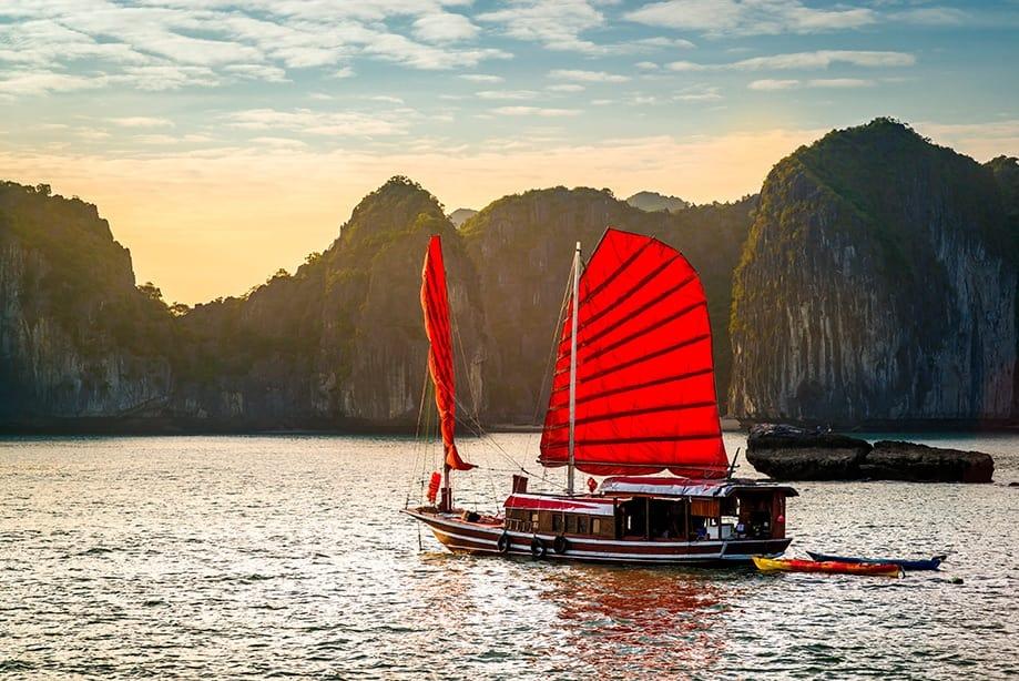 halong crucero | Rojo Cangrejo blog de viajes