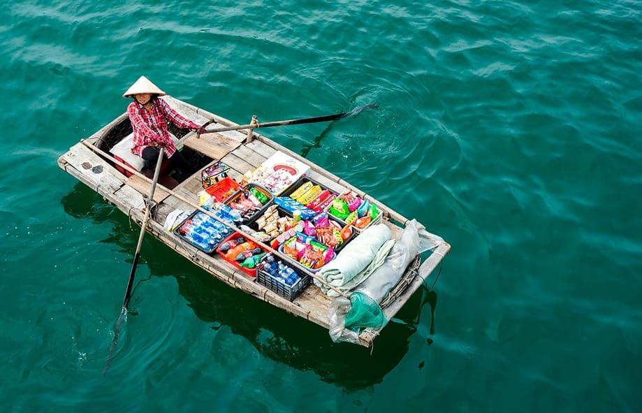 tour a la bahía de halong | Rojo Cangrejo blog de viajes