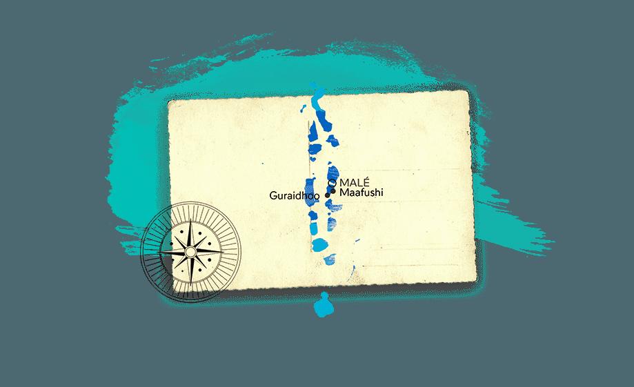 Mapa de Maldivas | Rojo Cangrejo Blog de viajes