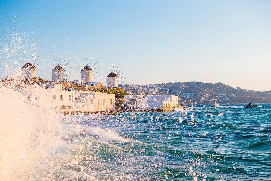 Molinos de viento en Mykonos | Rojo Cangrejo Blog de viajes