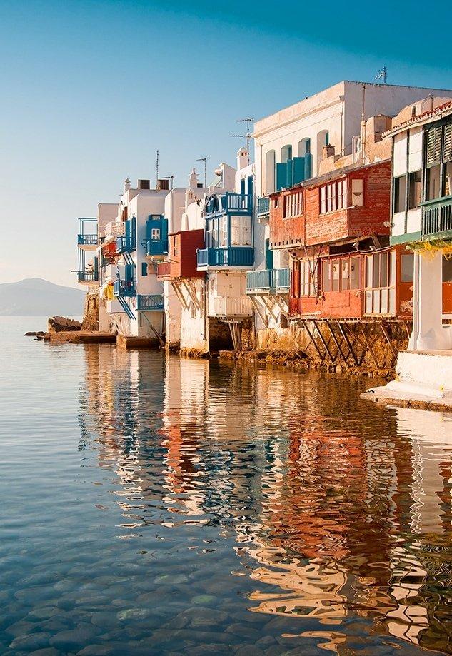 Little Venice en Mykonos | Rojo Cangrejo Blog de viajes