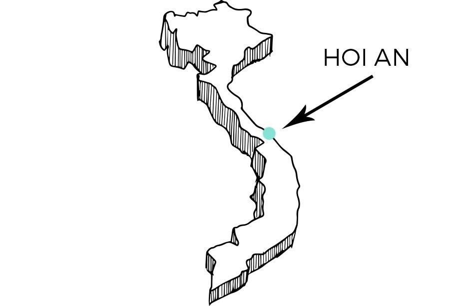 ¿Dónde queda Hoi An? | Rojo Cangrejo Blog de viajes