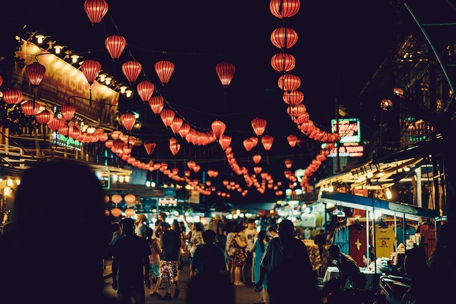 Tour nocturno por Hoi An | Rojo Cangrejo Blog de viajes