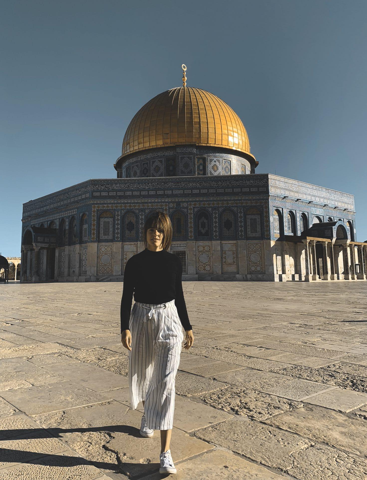 Cúpula de La Roca en Jerusalén | Rojo Cangrejo Blog de viajes