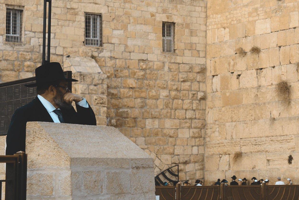 Muro de Las Lamentaciones en Jerusalén | Rojo Cangrejo Blog de viajes