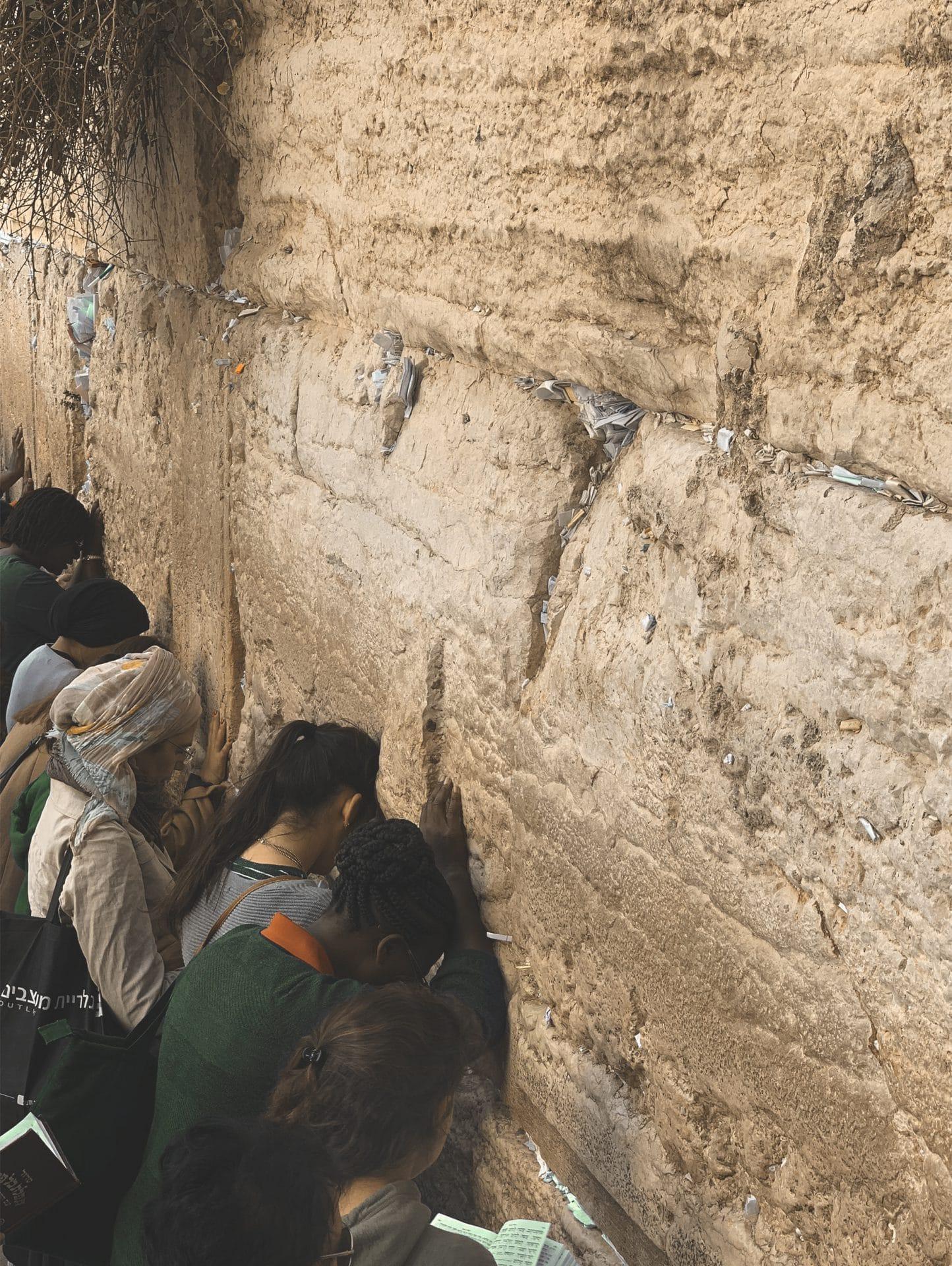 Muro de Los Lamentos en Jerusalén | Rojo Cangrejo Blog de viajes