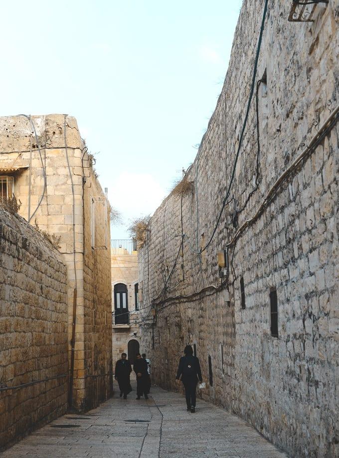Barrio cristiano de Jerusalén | Rojo Cangrejo Blog de viajes