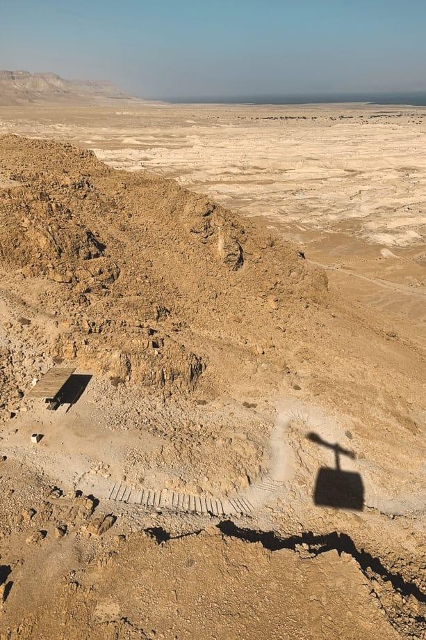 dónde está ubicada Masada