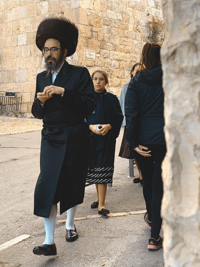 Judío Ortodoxo en Jerusalén | Rojo Cangrejo Blog de viajes