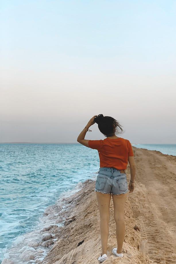 cómo llegar al mar muerto| Rojo Cangrejo
