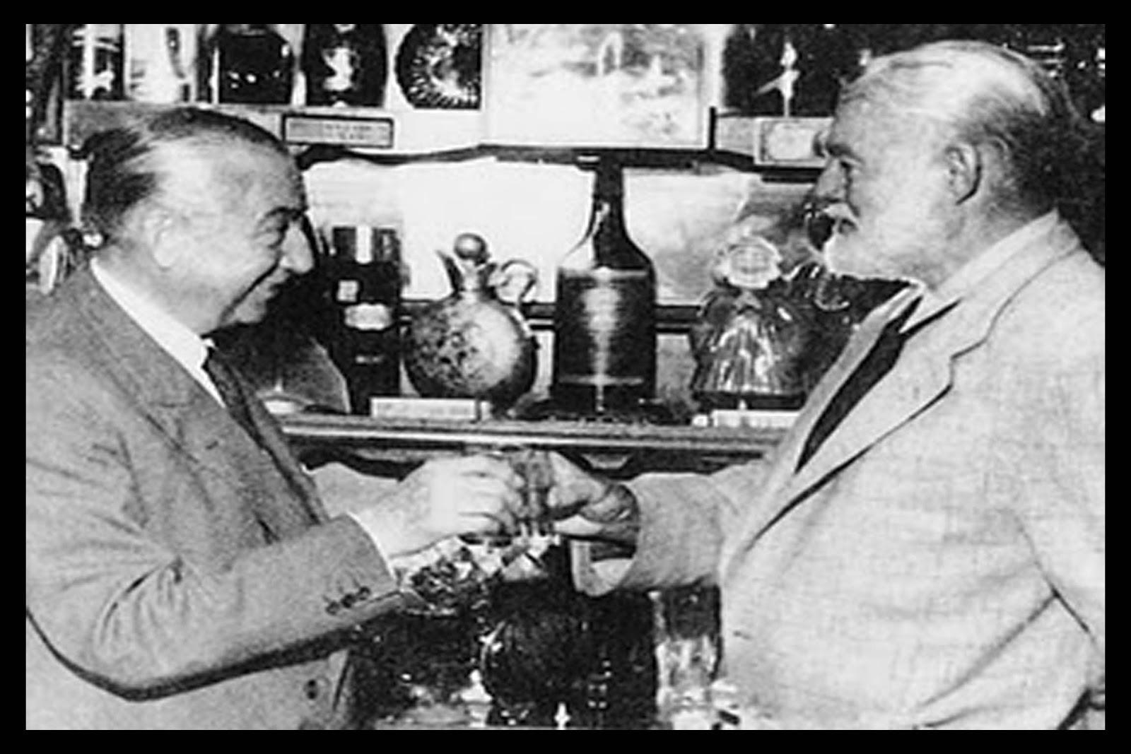 Chicote y Ernest Hemingway | Rojo Cangrejo Blog de Viajes