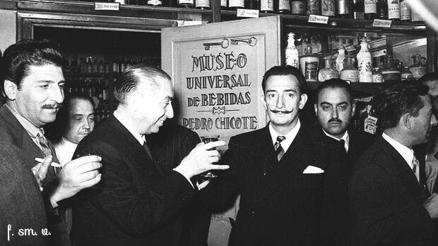 Chicote y Dalí | Rojo Cangrejo Blog de Viajes