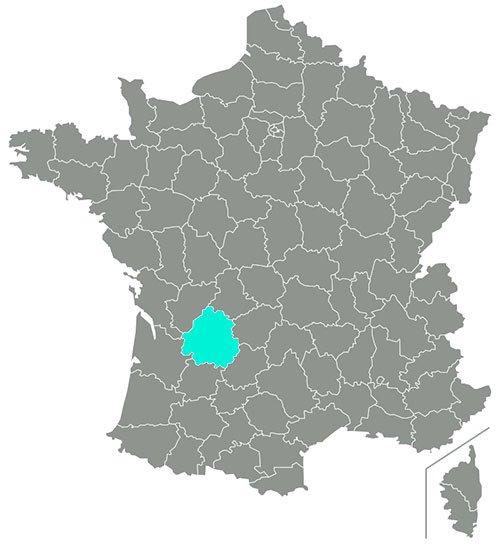 dordoña francia mapa
