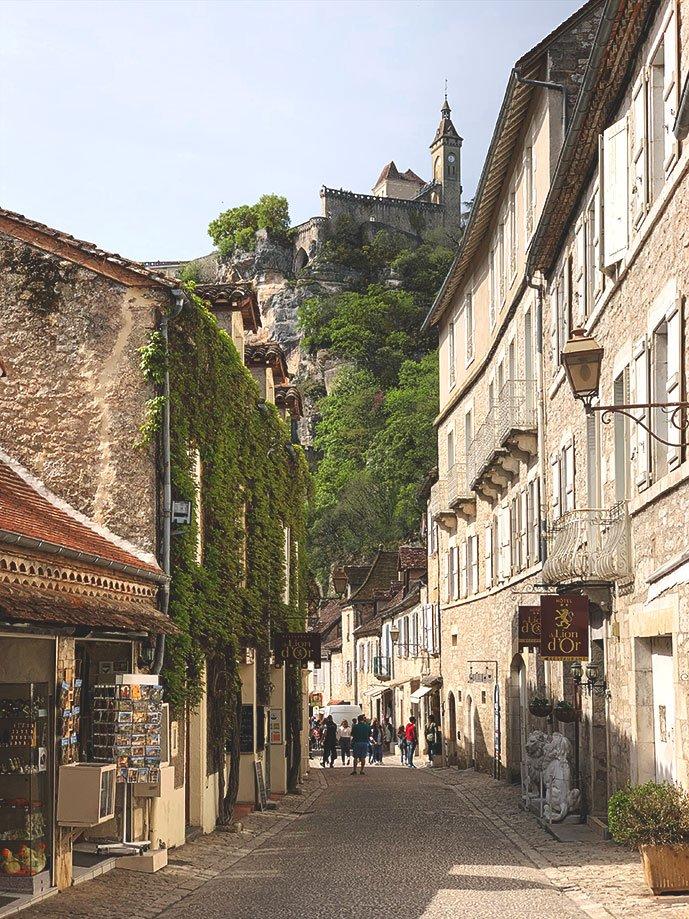 santuario de Rocamadour Francia | Rojo Cangrejo Blog de Viajes