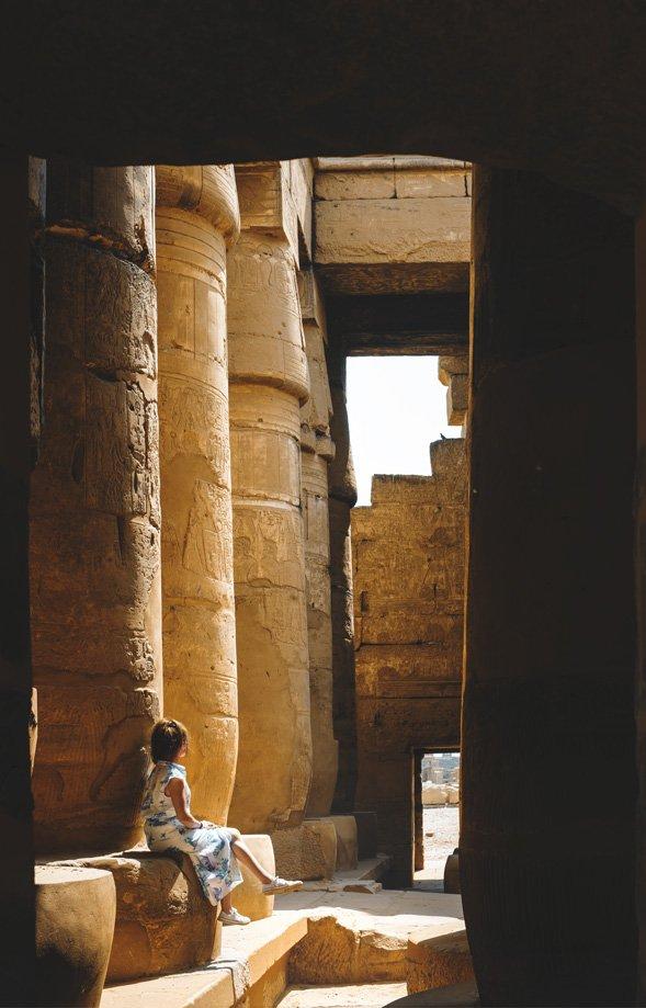 Cómo llegar a Luxor en Egipto | Rojo Cangrejo Blog de Viajes